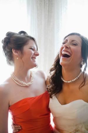 Orange-Bridesmaids-Dresses