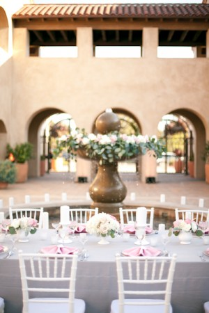 Outdoor California Wedding Reception