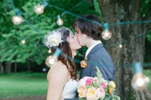 Outdoor-Wedding-Ceremony-Hanging-Bulb-Lights