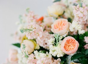 Peach Inspired Floral Shoot by Justin Demutiis