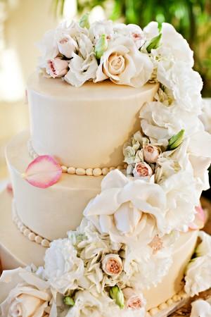 Pink-Rose-Cake-Flowers