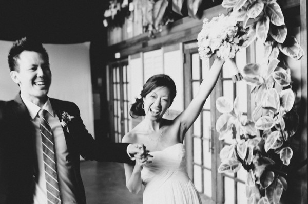 Pretty Modern Smog Shoppe Wedding by Hugh Forte 2