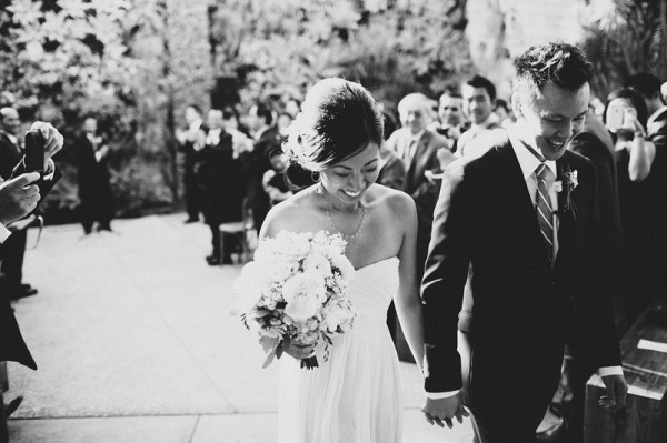 Pretty Modern Smog Shoppe Wedding by Hugh Forte 3