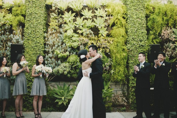 Pretty Modern Smog Shoppe Wedding by Hugh Forte 4