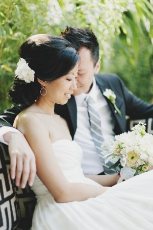 Pretty Modern Smog Shoppe Wedding by Hugh Forte 6