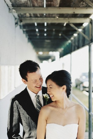Pretty Modern Smog Shoppe Wedding by Hugh Forte 7