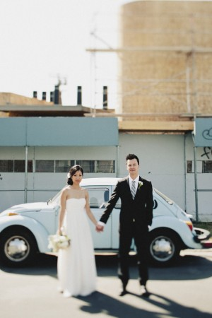 Pretty Modern Smog Shoppe Wedding by Hugh Forte 9