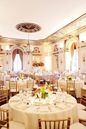 Romantic Elegant Classy Wedding Reception