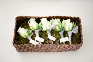 Rose-Boutonnieres
