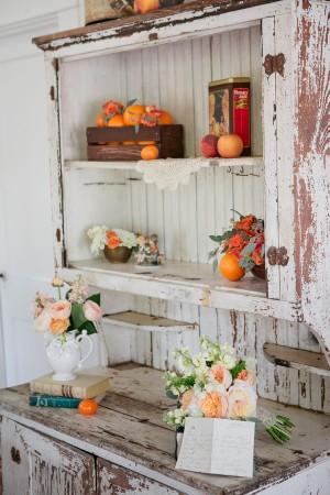Rustic Vintage Hutch