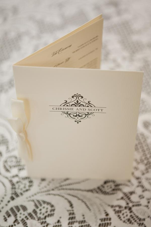 simple elegant wedding program elizabeth anne designs the wedding