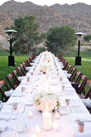Simple Elegant White Wedding Ideas 2