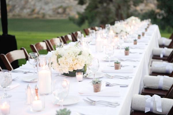Simple Elegant White Wedding Ideas 3 - Elizabeth Anne Designs: The ...