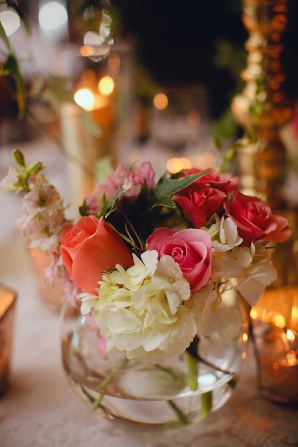 Small Fishbowl Wedding Centerpiece Elizabeth Anne Designs The