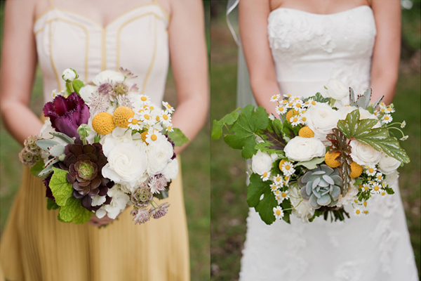 Succulent and Foliage Bouquets