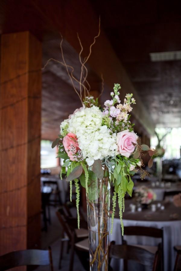 Tall Hydrangea Centerpiece Elizabeth Anne Designs The Wedding Blog