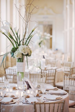 Tall White Wedding Centerpiece Ideas