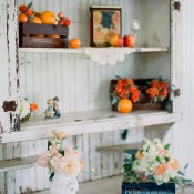 Vintage Books and Hutch