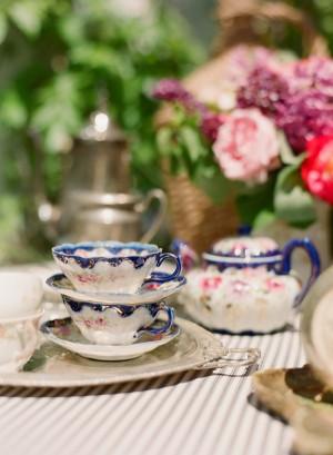 Vintage China Wedding Tea
