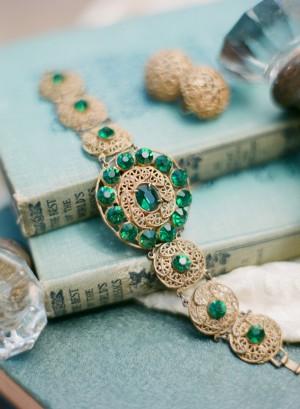 Vintage Emerald Bracelet