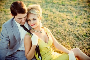 Vintage Engagement Session 13