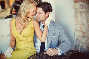 Vintage Engagement Session 5