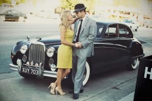 Vintage Engagement Session 9
