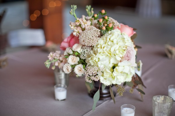 Vintage-Textured-Wedding-Centerpiece