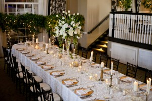 Wedding Banquet Style Table