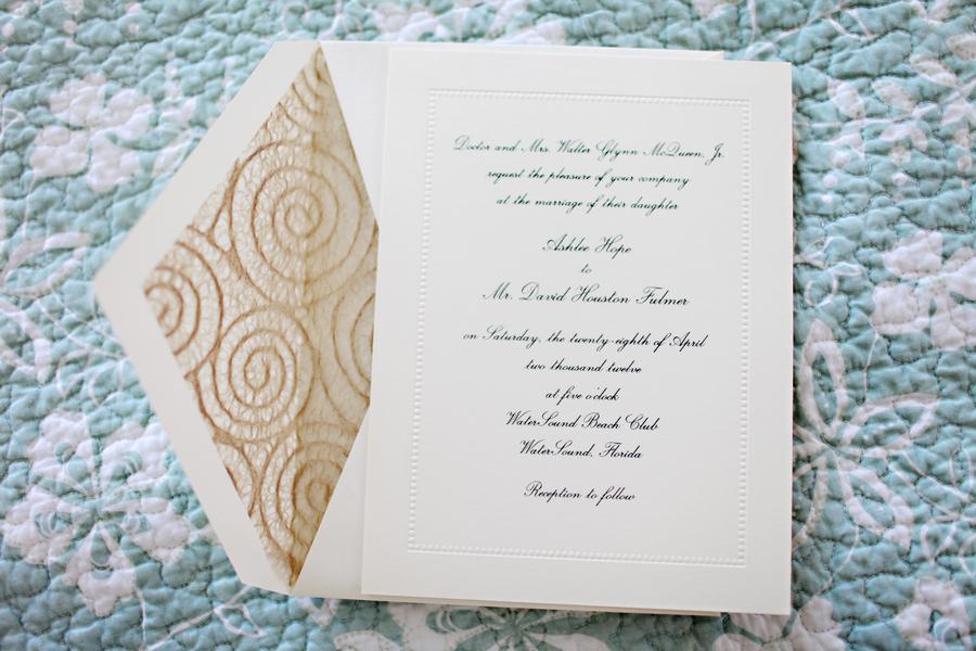 WeddingInvitationEnvelopeLiner Elizabeth Anne Designs The