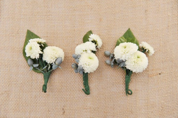 White-Button-Mum-Boutonniere