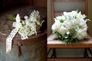 White Queen Annes Lace Bouquets