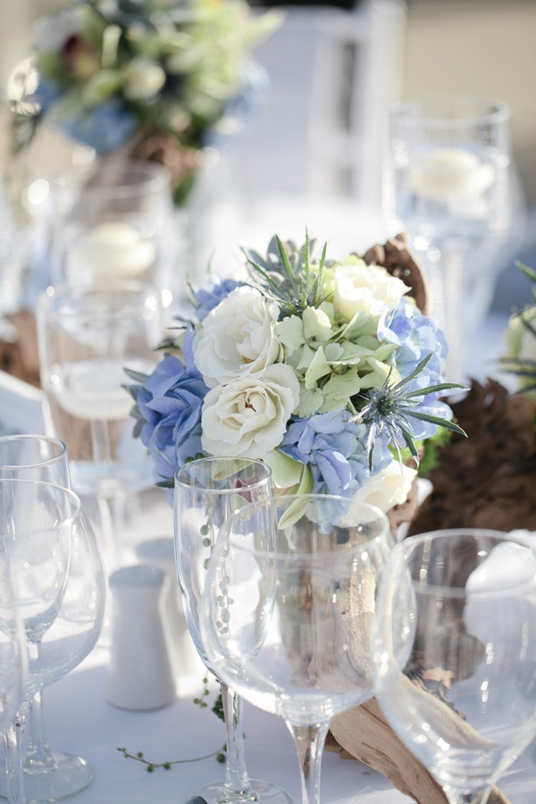 wedding ideas blue and white blue and white wedding flowers elizabeth designs 27945