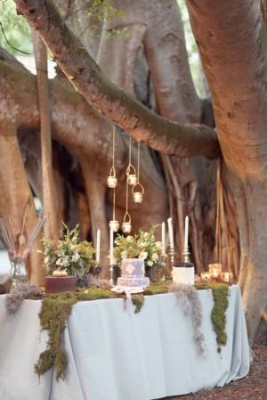 Bohemian Forest Inspired Dessert Table