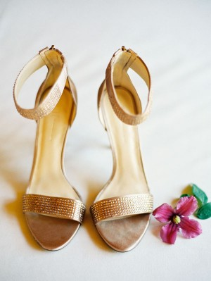 Bronze Wedding Shoes