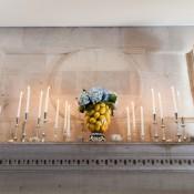 Candlelit Wedding Mantle