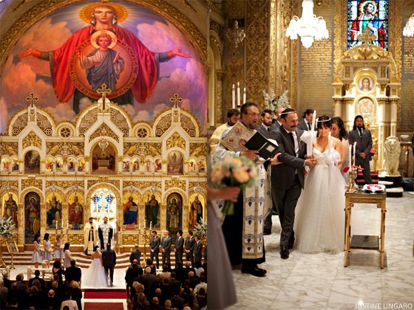 Chic Greek Wedding