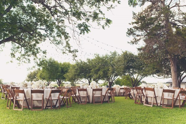 Classic Outdoor Wedding Reception