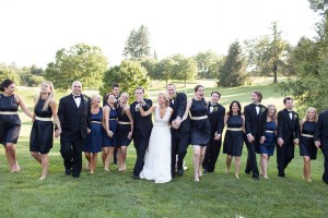 Classy Southern Bridal Party