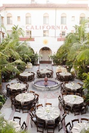 Courtyard Wedding Reception 2