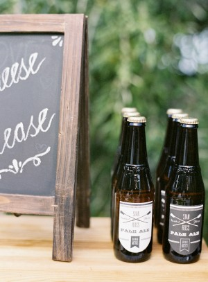 Custome Wedding Drink Labels