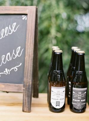 Custome Wedding Drink Labels