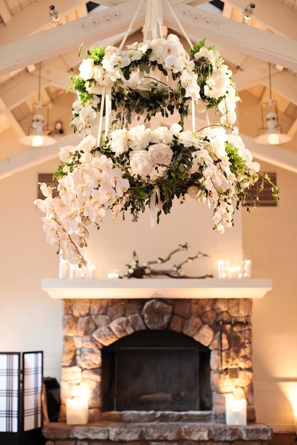 Elegant Flower Chandelier