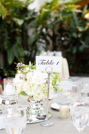 Elegant Glamorous Wedding Centerpiece