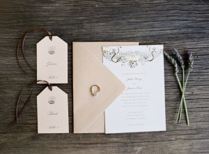 Elegant Rustic Wedding Invitations