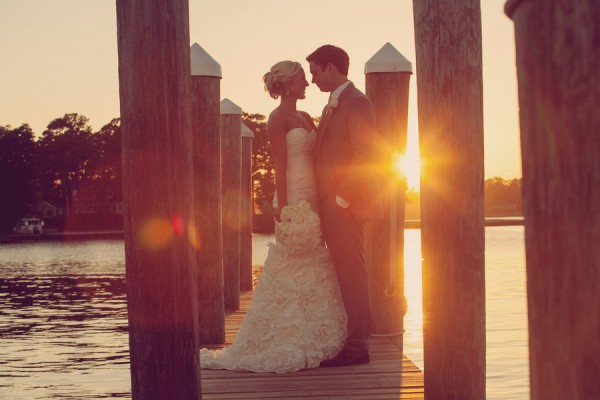 Elegant Waterfront Virginia Beach Wedding by Andi Grant Photography 1