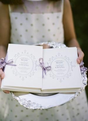 Elegant Wedding Program Books