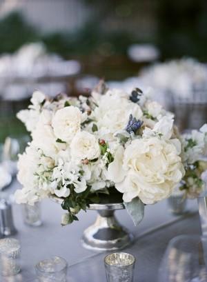 Elegant White Centerpiece
