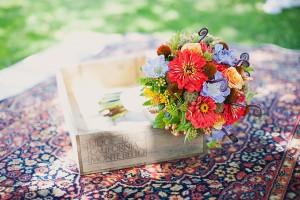 Farm Stand Wedding Flowers