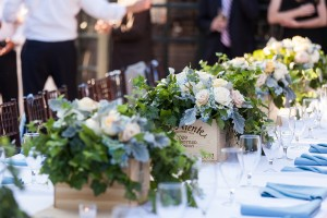 French Vineyard Inspired Wedding Centerpieces